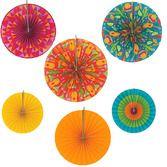 Cinco de Mayo Decorations Fiesta Paper Fans Image