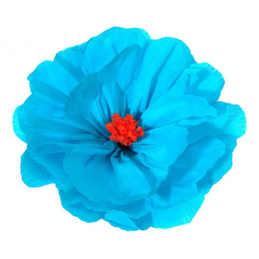 Cinco de Mayo Decorations Rachel's Turquoise Flower Image