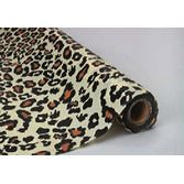 Jungle & Safari Table Accessories 100' Leopard Table Roll  Image