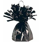 New Years Balloons Black Metallic Balloon Weight Image