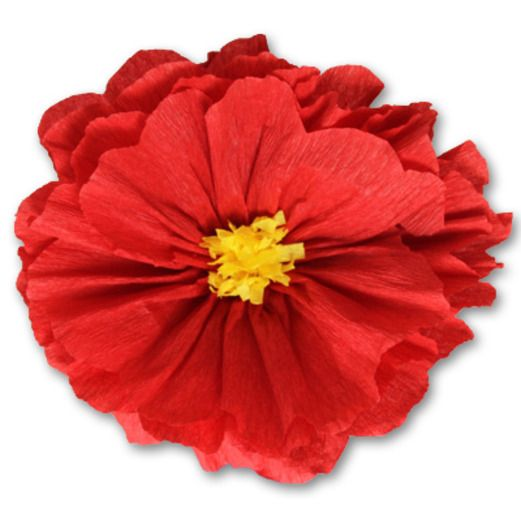 Mexican paper flowers mexican party supplies at amols fiesta cinco de mayo decorations rachels red flower image mightylinksfo