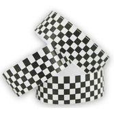Wristbands Tyvek Wristbands Black-White Checkerboard Image