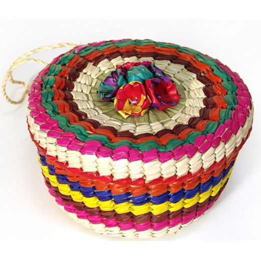 d3a165536ae Cinco de Mayo Decorations Tortillero (Tortilla Basket) Image