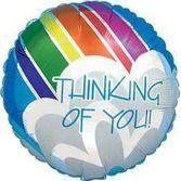 Balloons Thinking of You Mylar Balloon Image