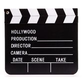 Awards Night & Hollywood Decorations Movie Clap Board Image