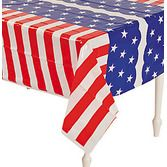 4th of July Table Accessories Stars and Stripes Tablecover Image