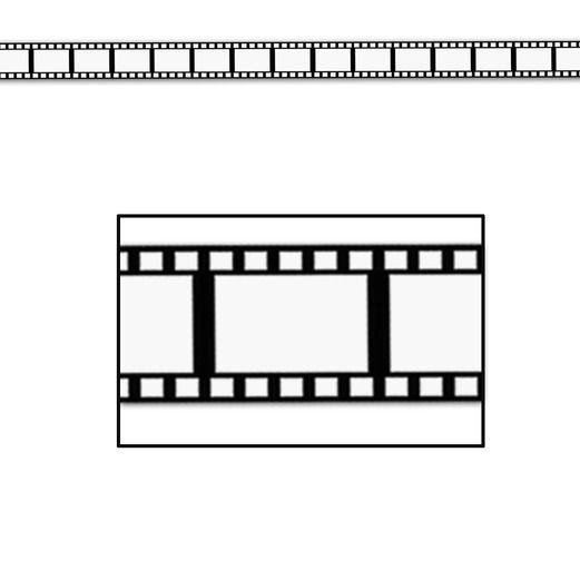 Awards Night & Hollywood Decorations Decorative Filmstrip Image