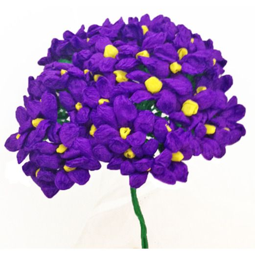 Cinco de Mayo Decorations Purple Terecitas Flowers Image