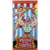 Birthday Party Decorations Big Top Photo Door Banner Image