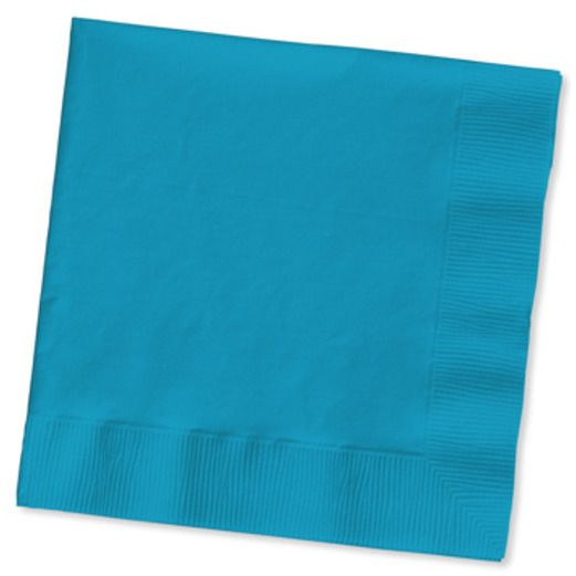 Table Accessories Turquoise Beverage Napkins Image