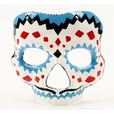 Day of the Dead Party Wear Day of the Dead Male Mask with Elastic Image