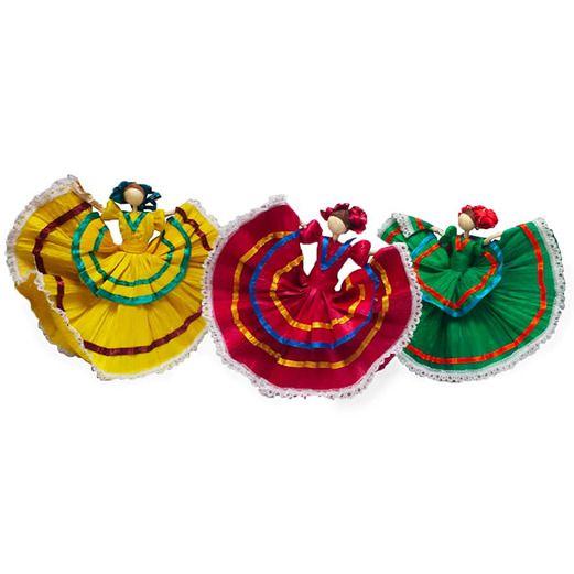 Cinco de Mayo Decorations Medium Folklorico Dancer Image