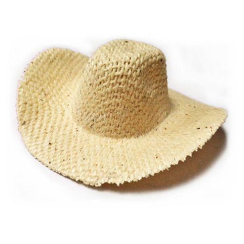 Mini Straw Western Hat