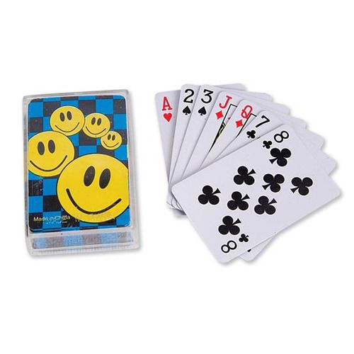 Smile Face Playing Cards