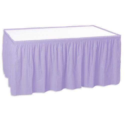 Lavender Table Skirt