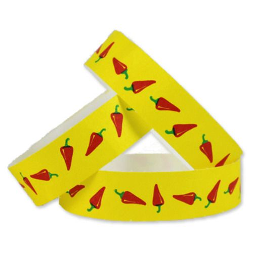 Tyvek Wristbands Chili Peppers
