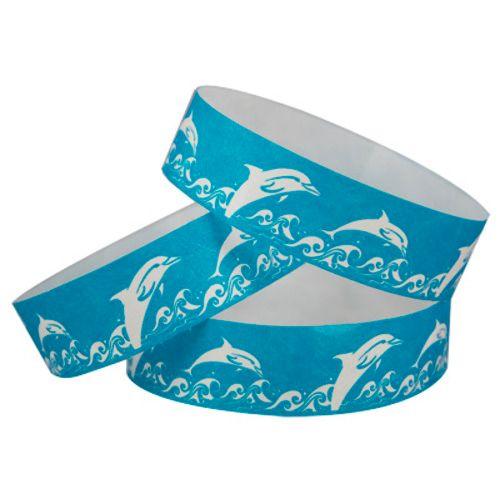 Tyvek Wristbands Dolphins