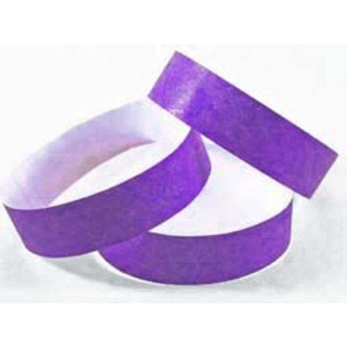 Tyvek Wristbands Purple