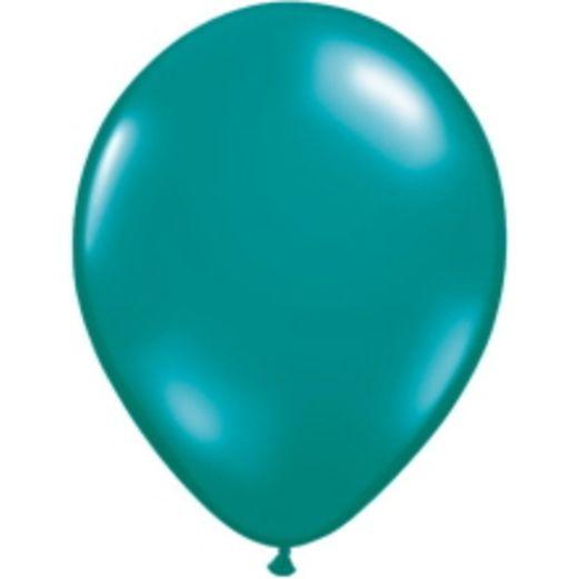"Luau Balloons 11"" Teal Qualatex Balloons Image"