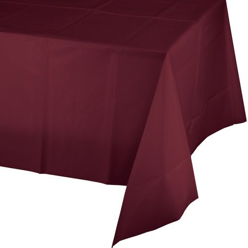 Rectangular Table Cover Burgundy