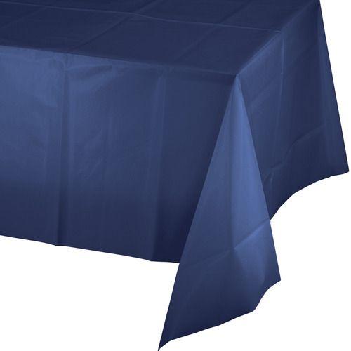 Rectangular Table Cover Navy Blue