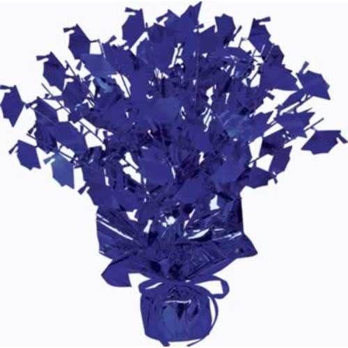 Blue Graduation Cap Centerpiece