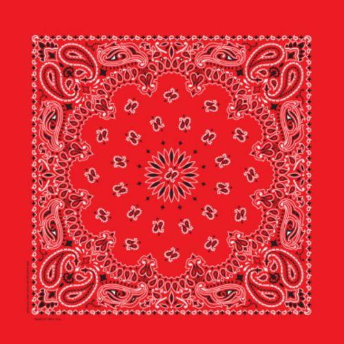 Deluxe Red Bandana