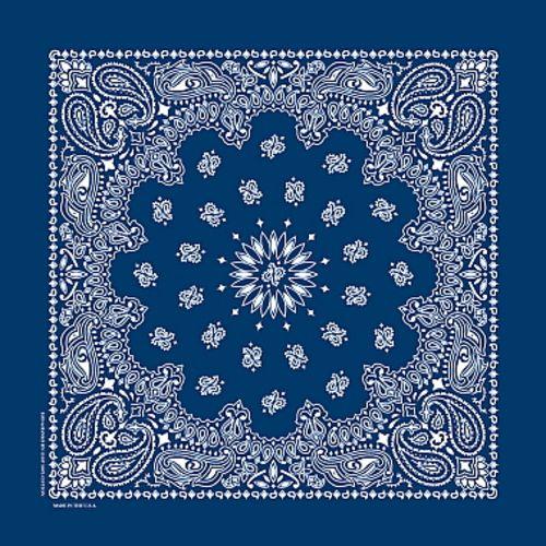 Deluxe Blue Bandana