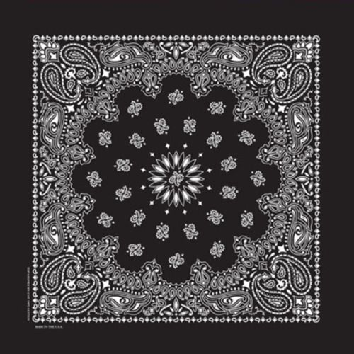 Deluxe Black Bandana