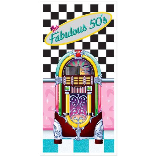 Fabulous 50s Door Cover