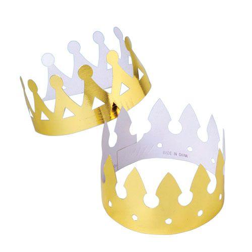 Gold Foil King's Crown