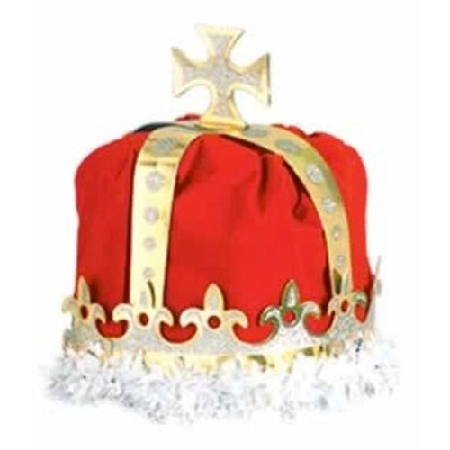 King's Crown Red Velour