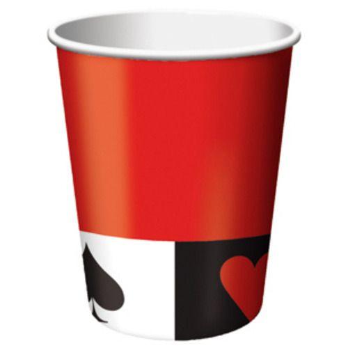 Card Night Paper Cups