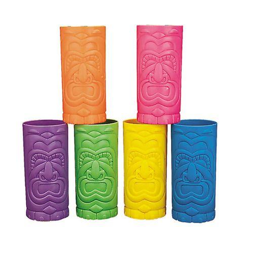 Plastic Tiki Cup