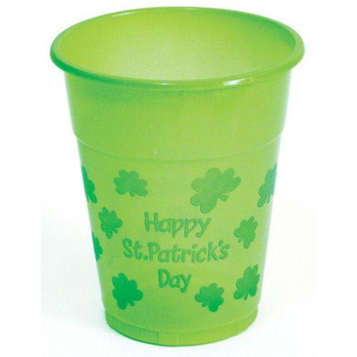 St. Pat's Plastic Cups