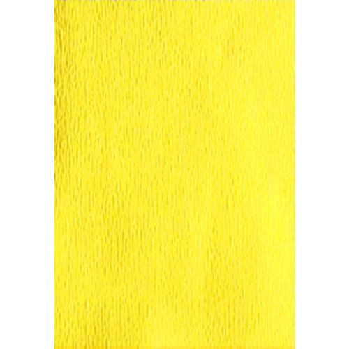 Canary Yellow Crepe Paper Sheets
