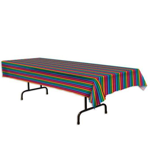 Fiesta Serape Plastic Tablecover