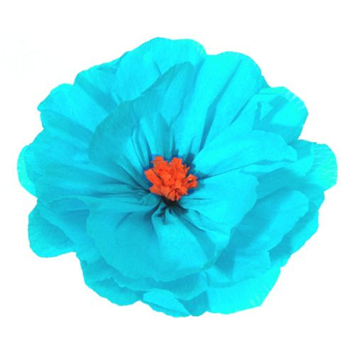 Rachel's Light Blue Flower