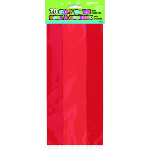 Ruby Red Cello Bags