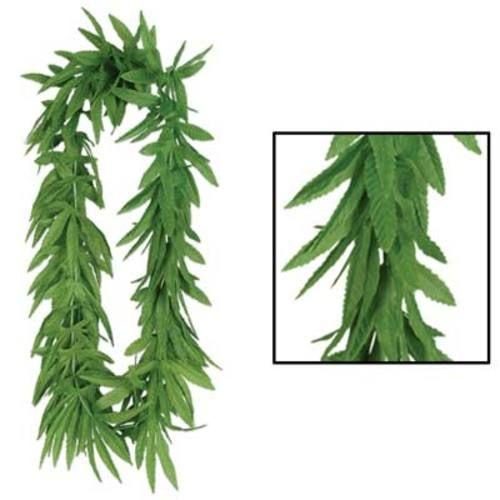 Tropical Fern Leaf Lei