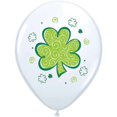 St. Patrick's Shamrock Balloons