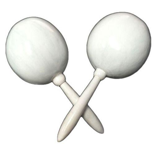 Plain White Maracas