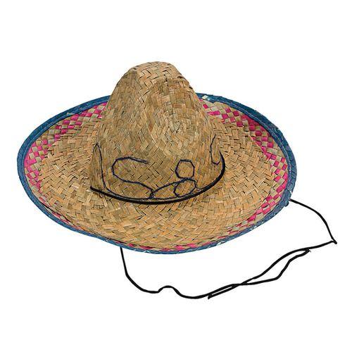 Child's Straw Sombrero