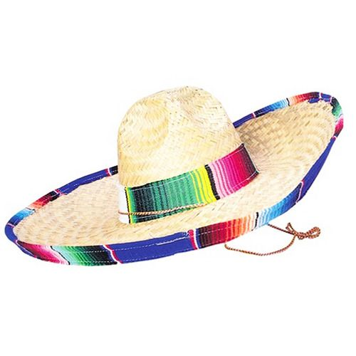 Adult Size Serape Sombrero