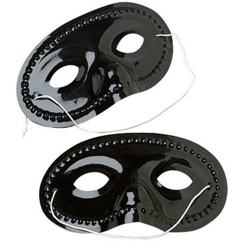 Black Half Masks