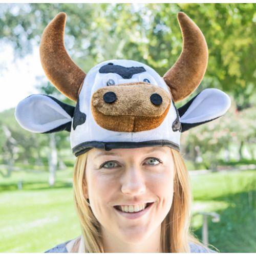 Cow Head Hat