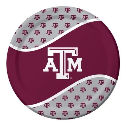 Texas A&M Dinner Plates