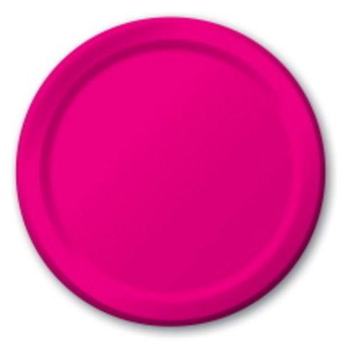 Hot Pink Dessert Plates