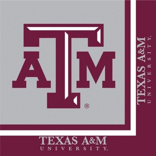 Texas A&M Lunch Napkins