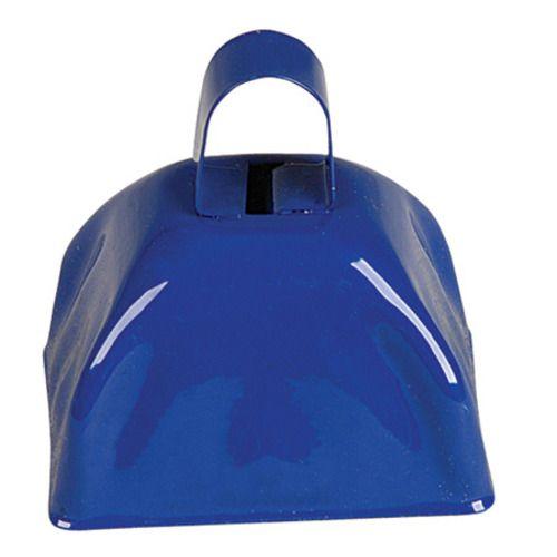 Blue Metal Cow Bell